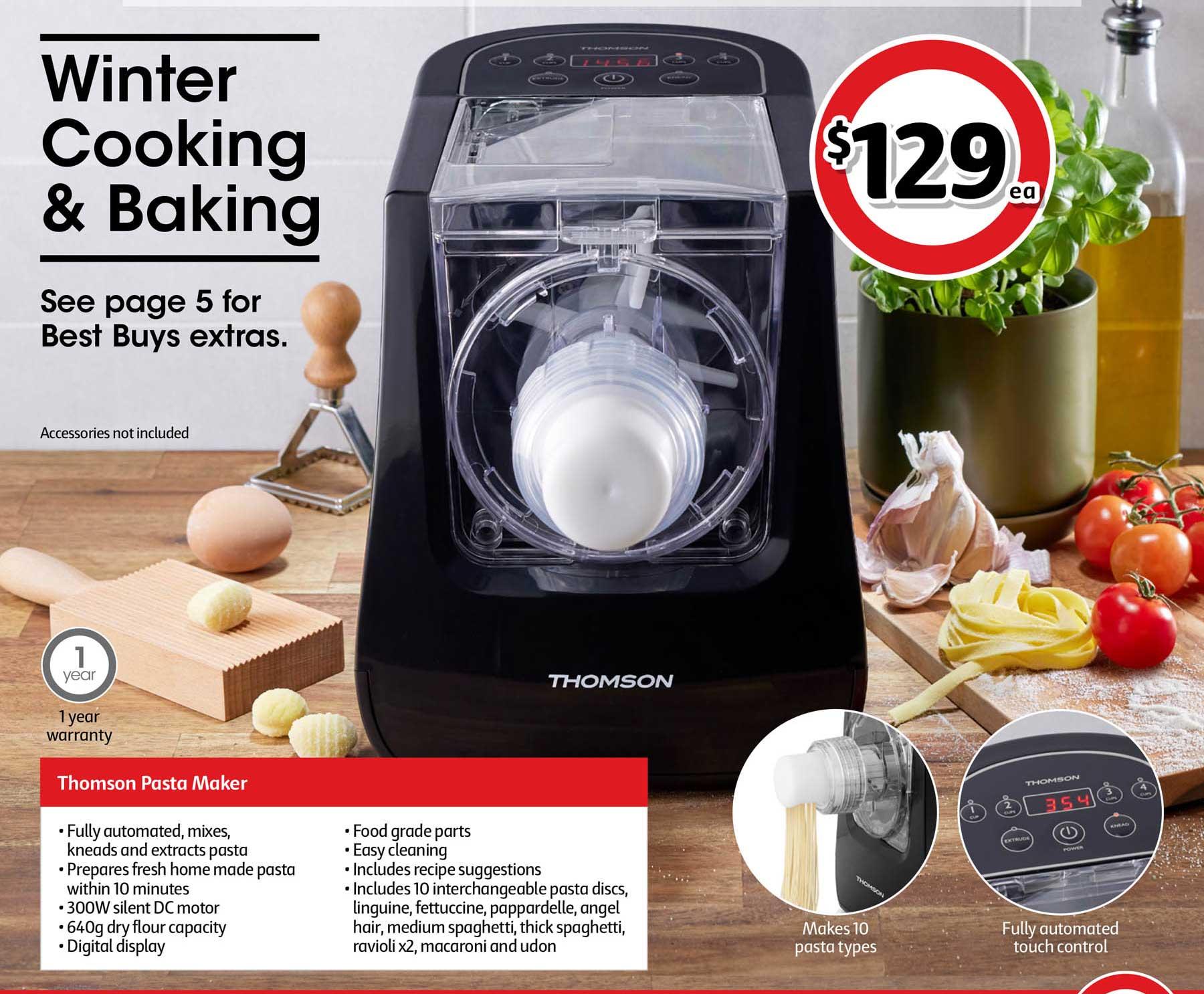 Coles Thomson Pasta Maker