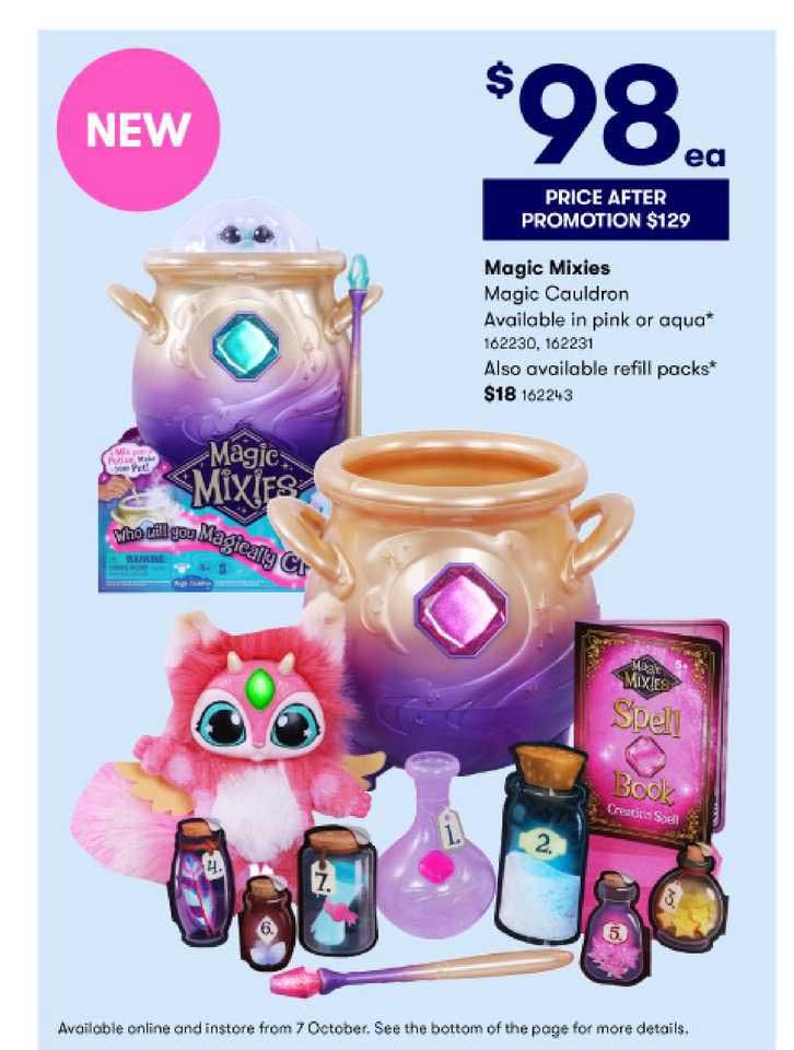 BIG W Magic Mixies Magic Cauldron