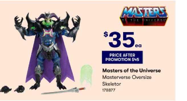 BIG W Masters Of The Universe Masterverse Oversize Skeletor