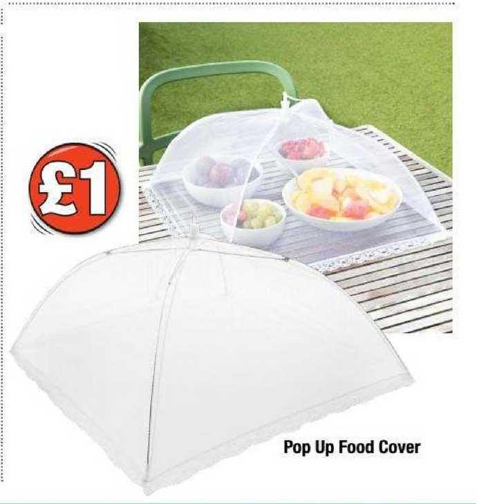 Poundland Pop Up Food Cover