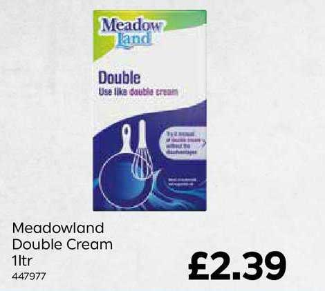 Bestway Meadowland Double Cream