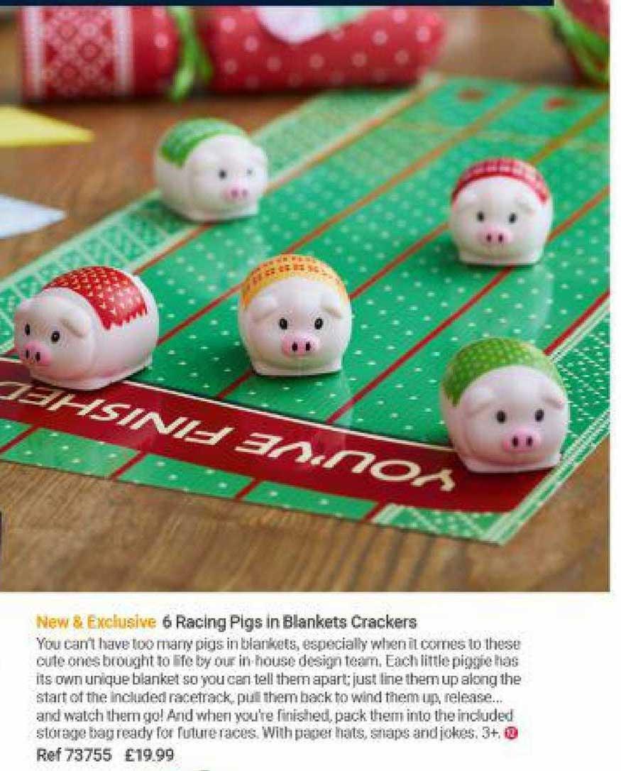 Lakeland 6 Racing Pigs In Blankets Crackers