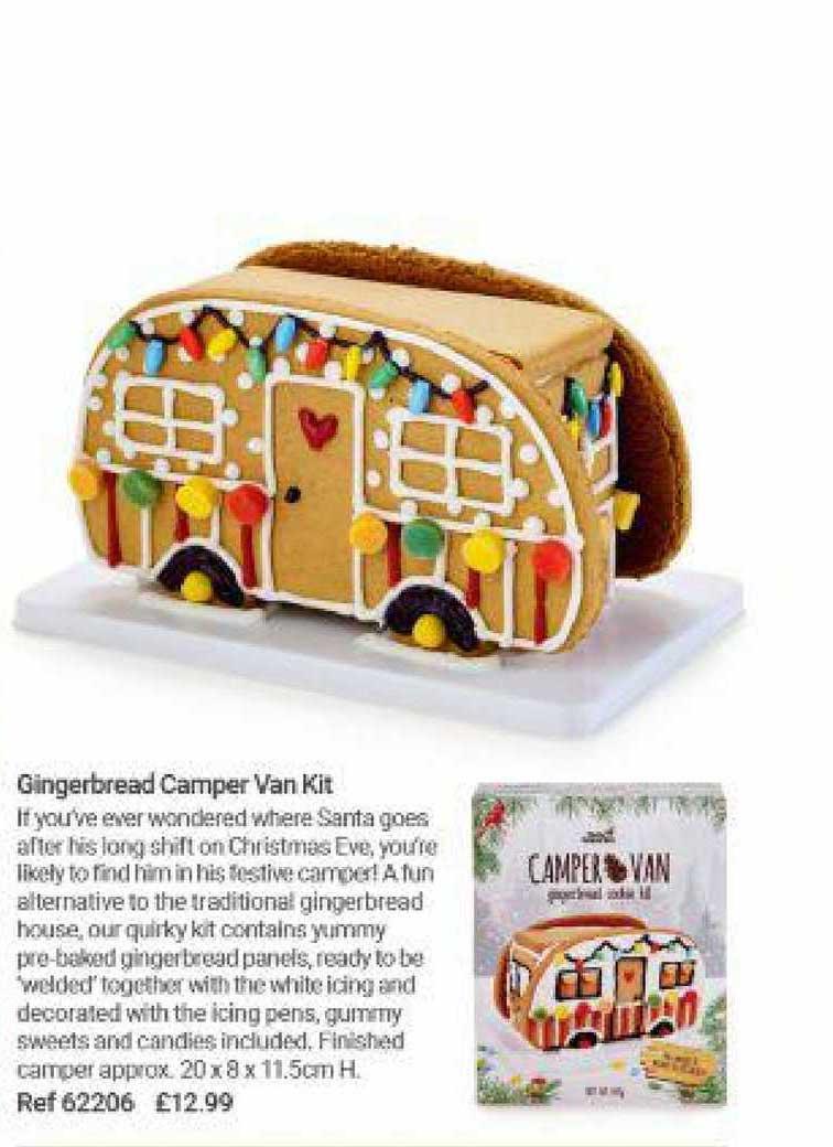 Lakeland Gingerbread Camper Van Kit