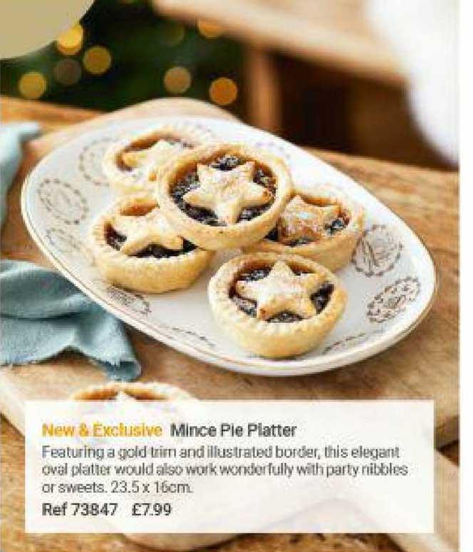 Lakeland Mince Pie Platter