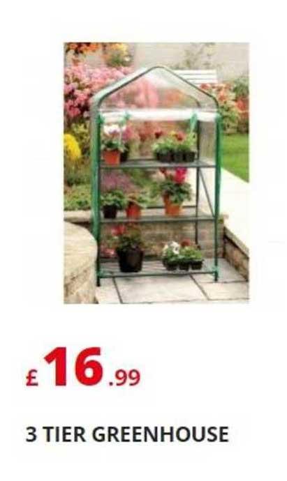 Poundstretcher 3 Tier Greenhouse