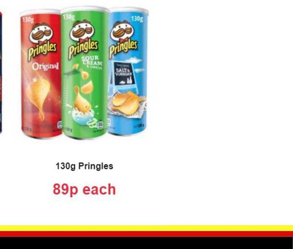Farmfoods 130g Pringles