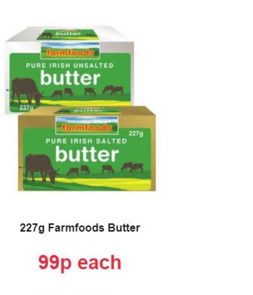 Farmfoods 227g Farmfoods Butter