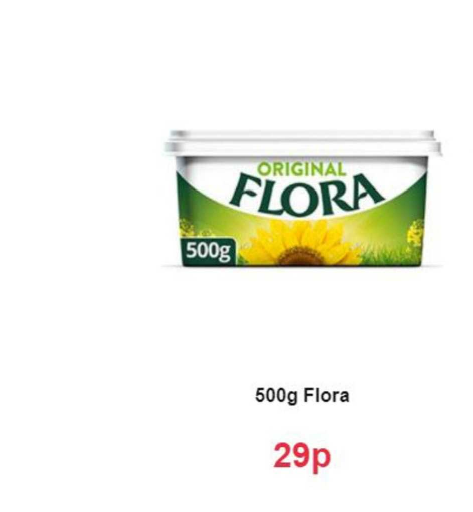 Farmfoods 500g Flora