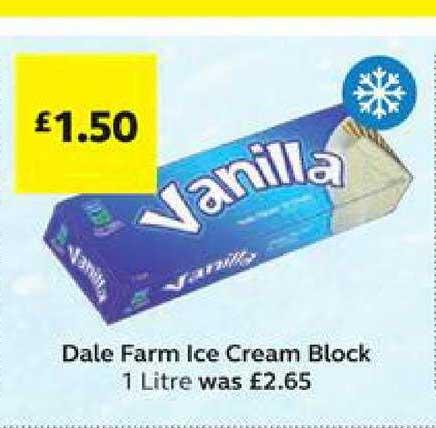 SuperValu Dale Farm Ice Cream Block