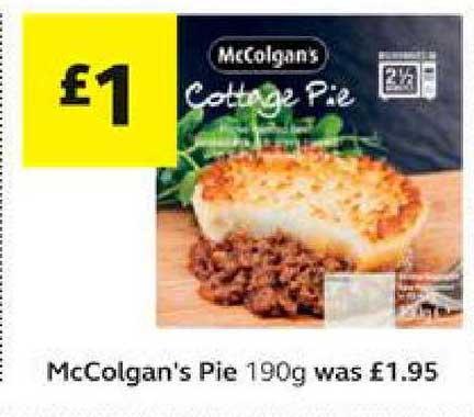 SuperValu McColgan's Pie