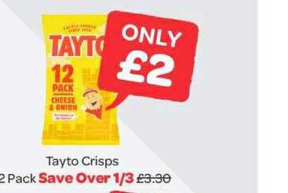 Spar Tayto Crisps