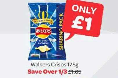 Spar Walkers Crisps