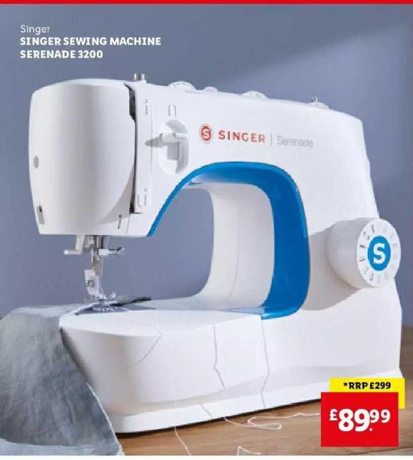 Lidl Singer Singer Sewing Machine Serenade 3200