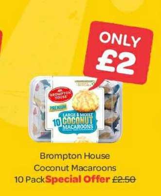 Spar Brompton House Coconut Macaroons