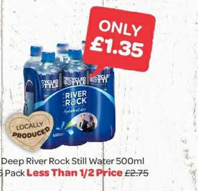Spar Deep River Rock Still Water 500 Ml