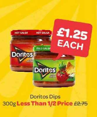 Spar Doritos Dips