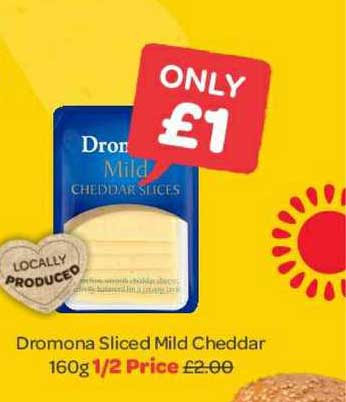 Spar Dromona Sliced Mild Cheddar