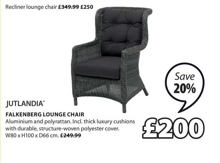 JYSK Falkenberg Lounge Chair