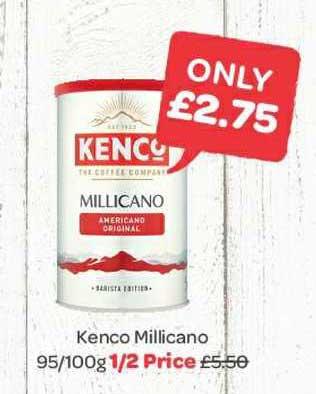Spar Kenco Millicano