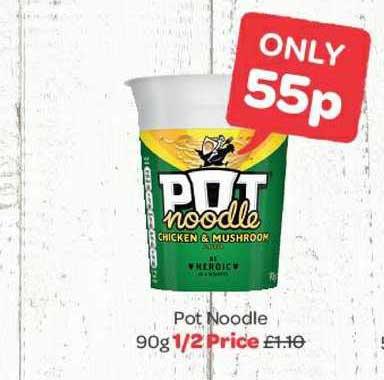 Spar Pot Noodle