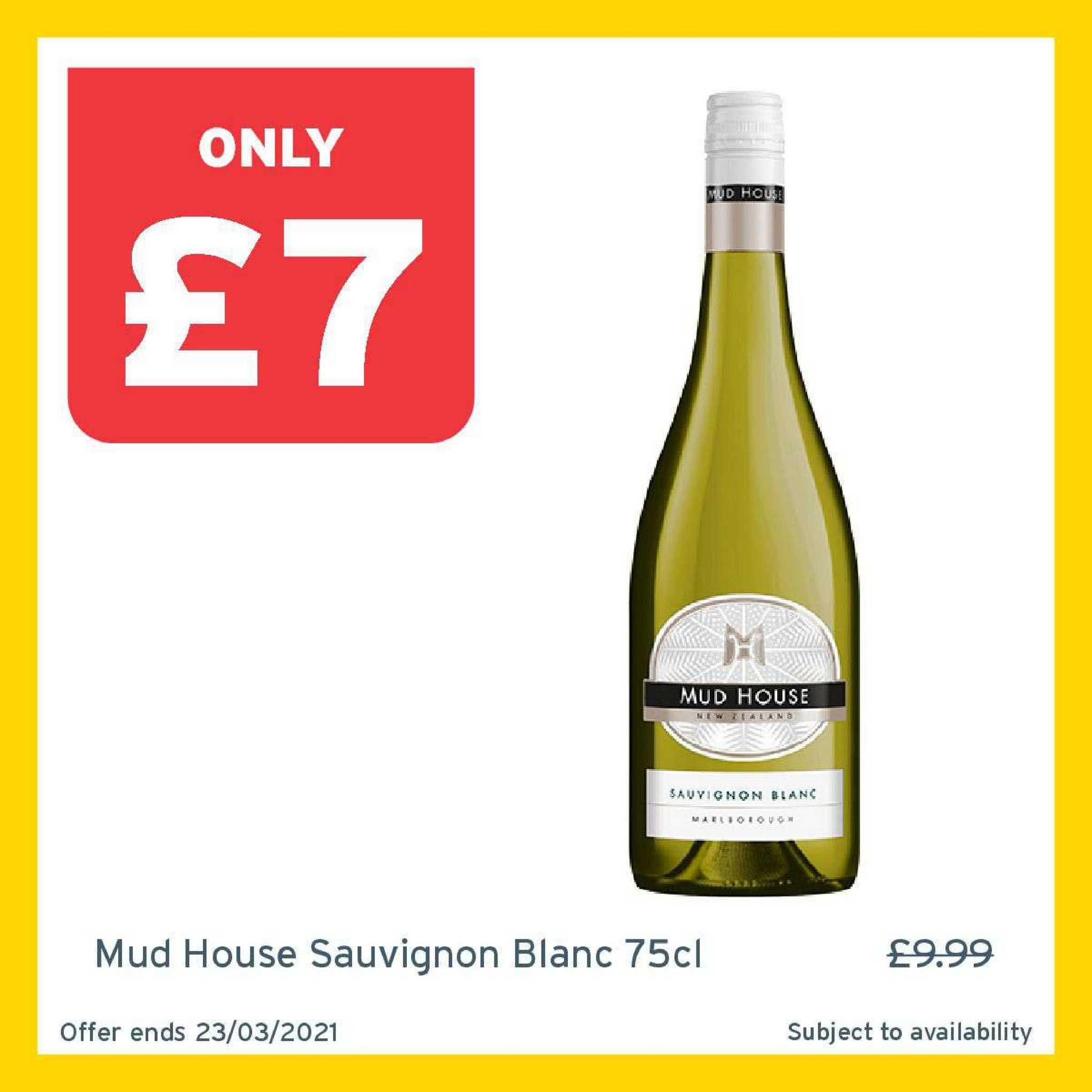One Stop Mud House Sauvignon Blanc 75cl