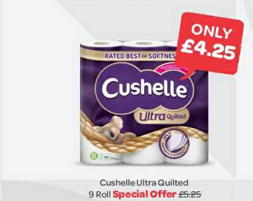 Spar Cushelle Ultra Quilted 9 Roll