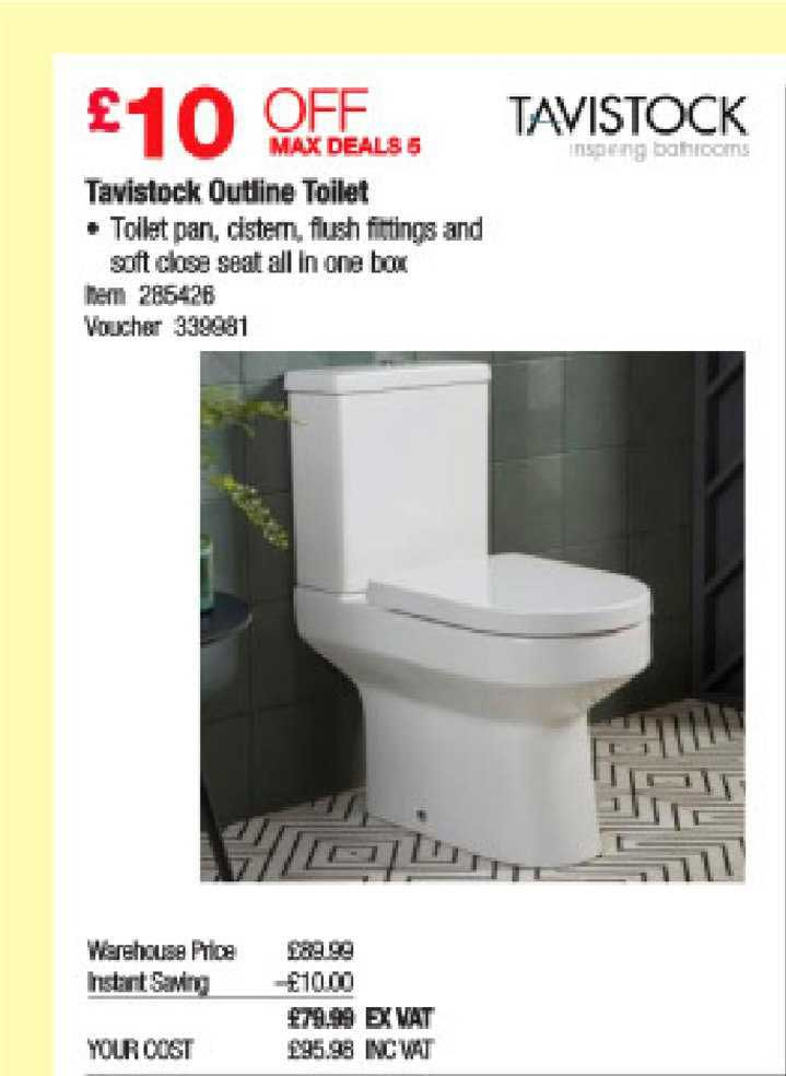 Costco Tavistock Outline Toilet