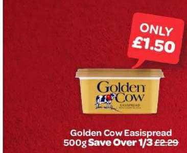 Spar Golden Cow Easispread