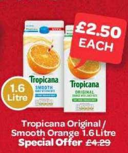 Spar Tropicana Original- Smooth Orange