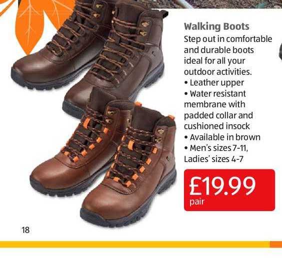 Aldi Walking Boots