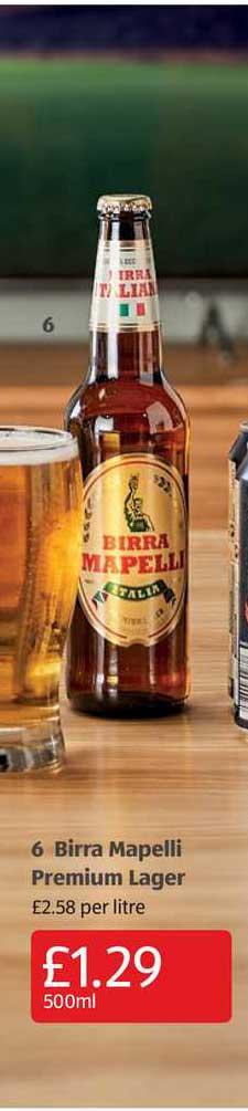 Aldi Birra Mapelli Premium Lager