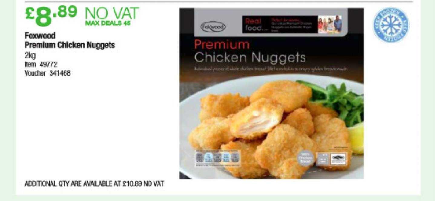 Costco Foxwood Premium Chicken Nuggets