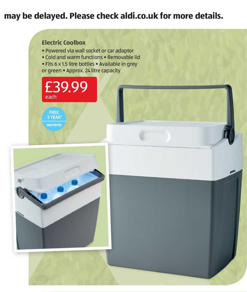 Aldi Electric Coolbox