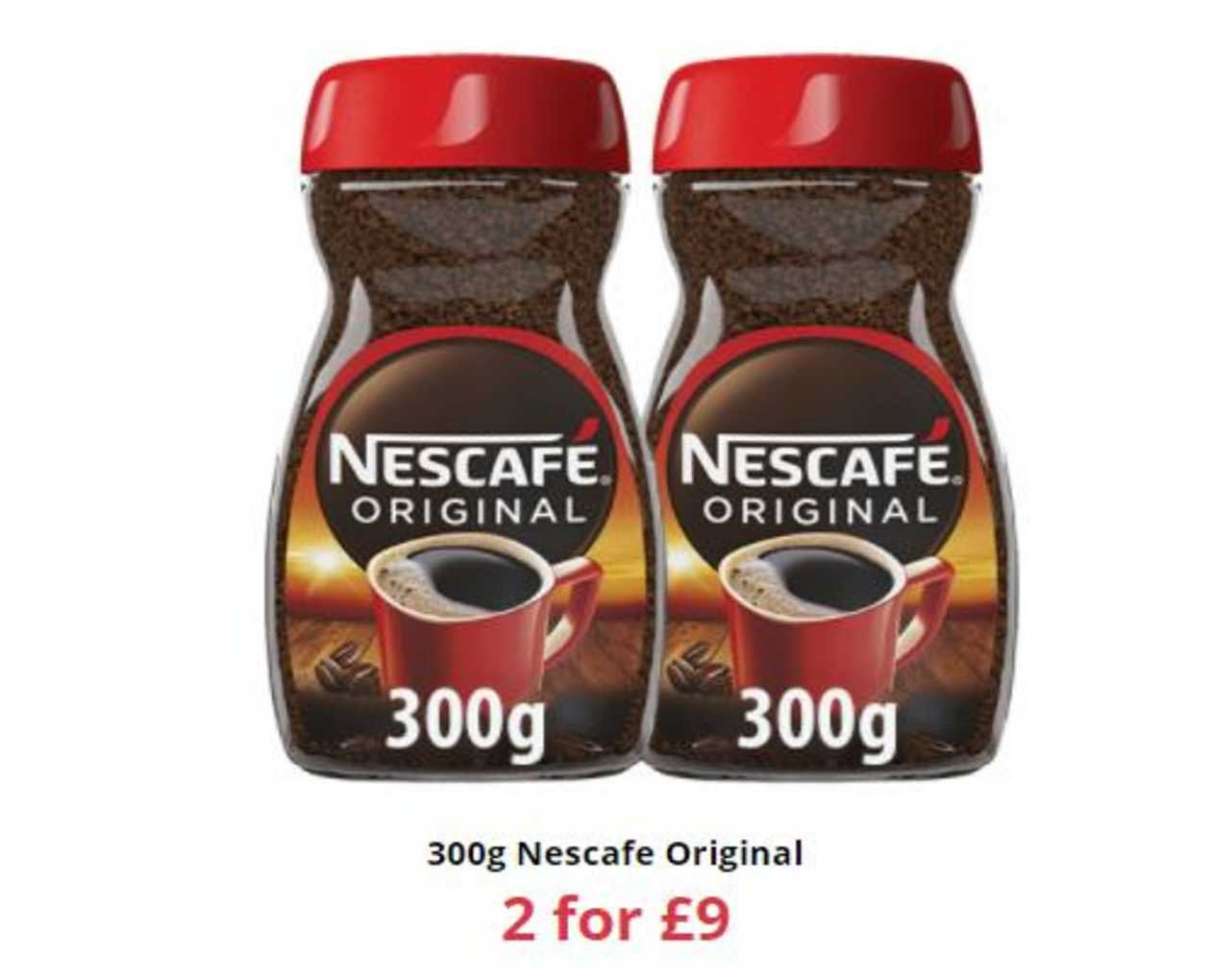 Farmfoods 300g Nescafe Original