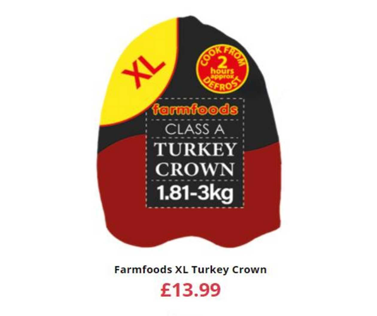 Farmfoods Farmfoods XL Turkey Crown