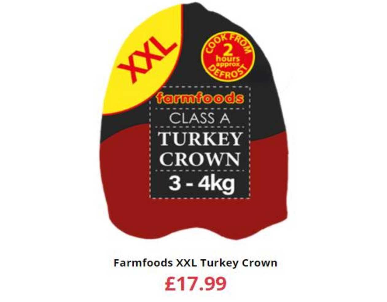 Farmfoods Farmfoods XXL Turkey Crown