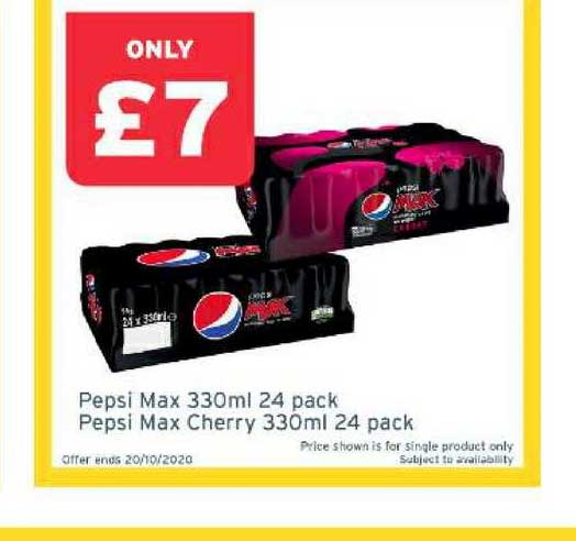 One Stop Pepsi Max 330ml 24 Pack