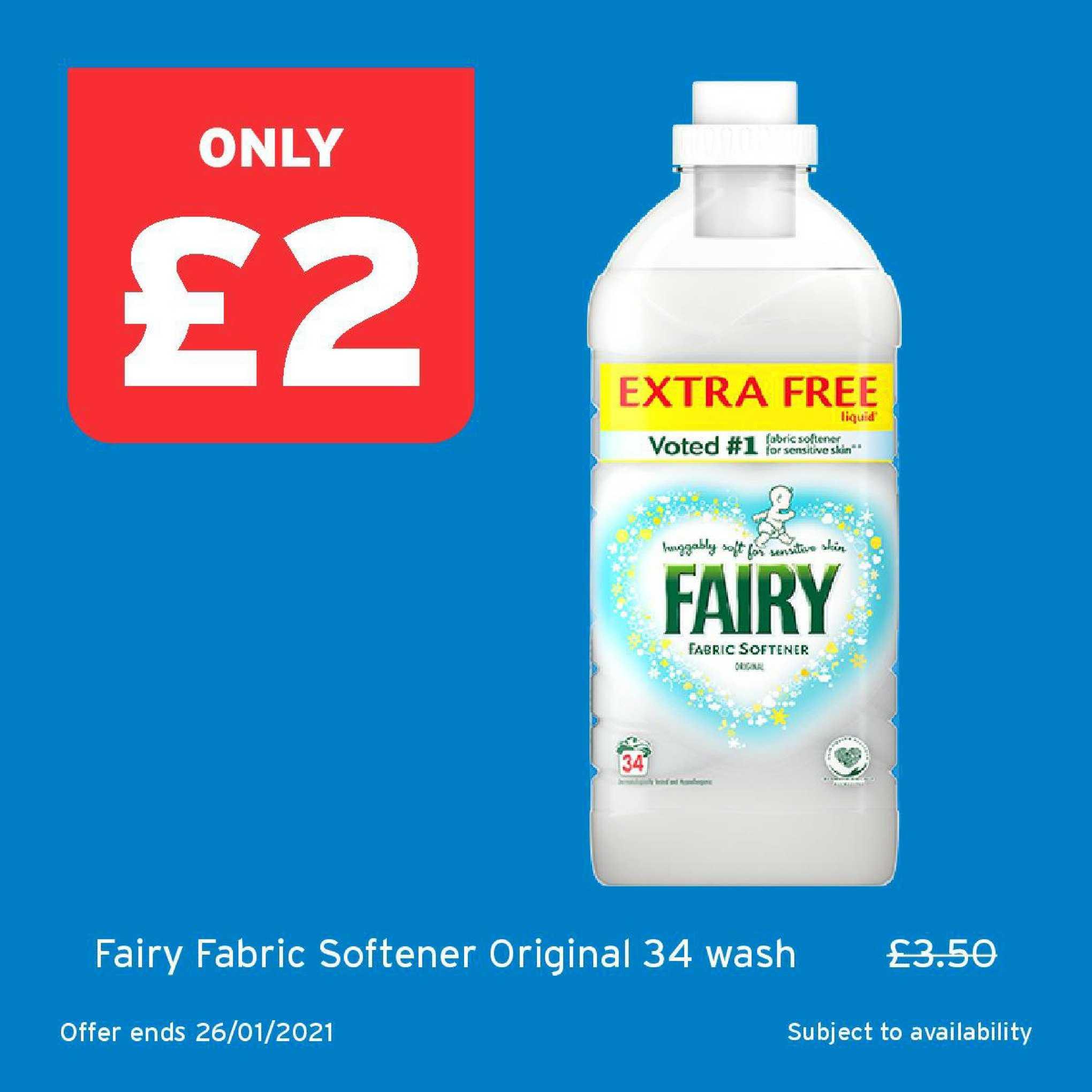 One Stop Fairy Fabric Softener