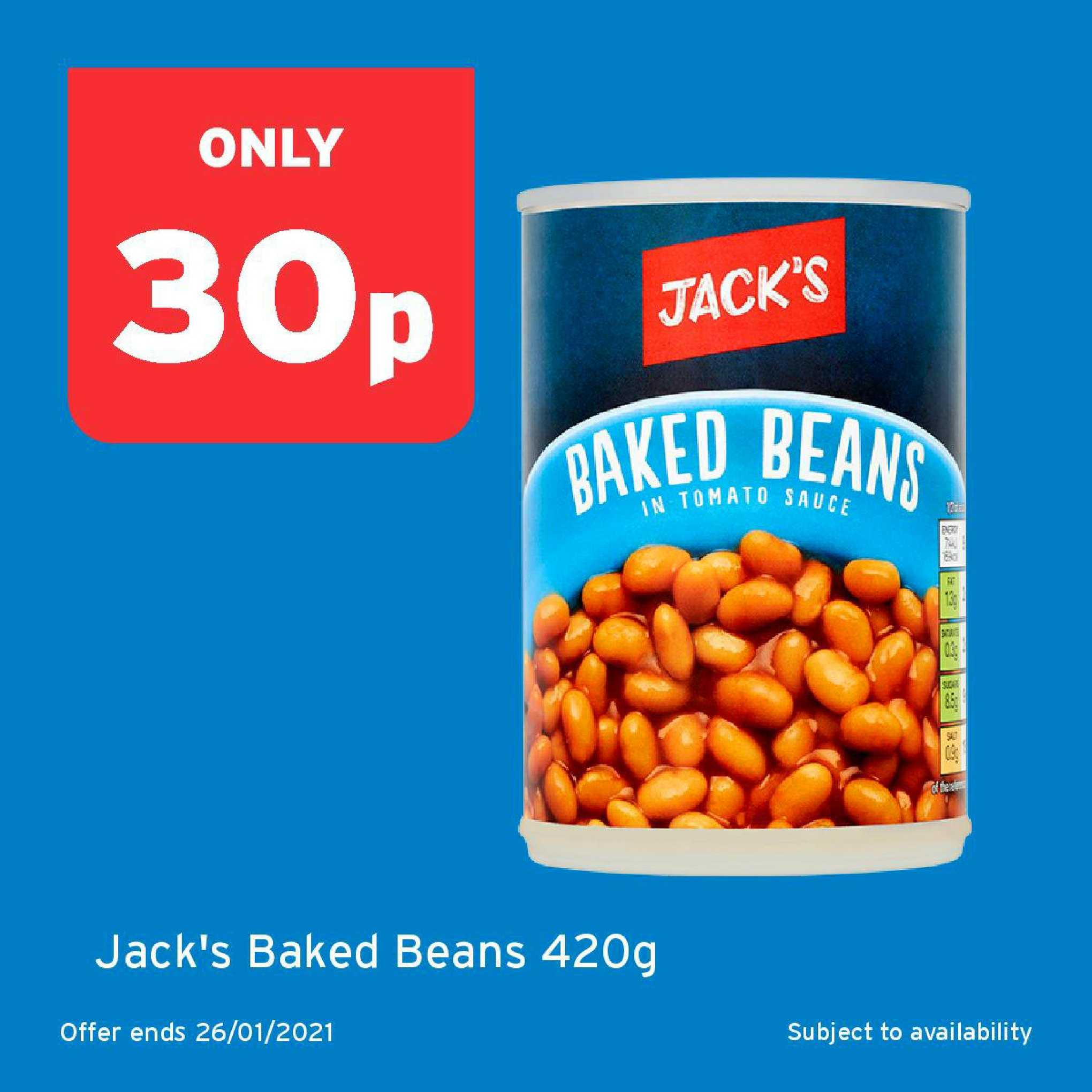 One Stop Jack's Baked Beans