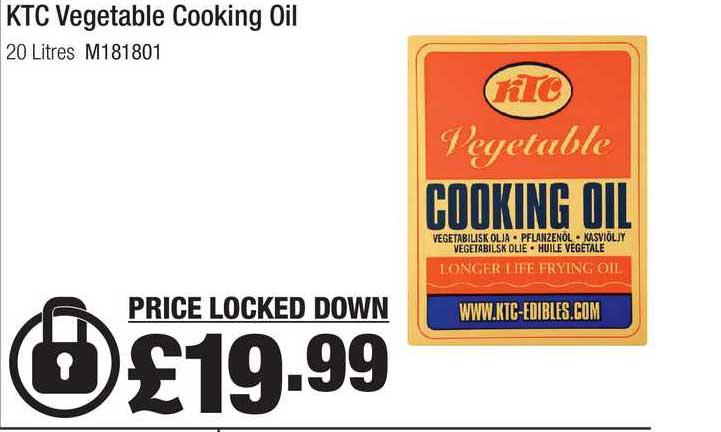 Makro KTC Vegetable Cooking Oil