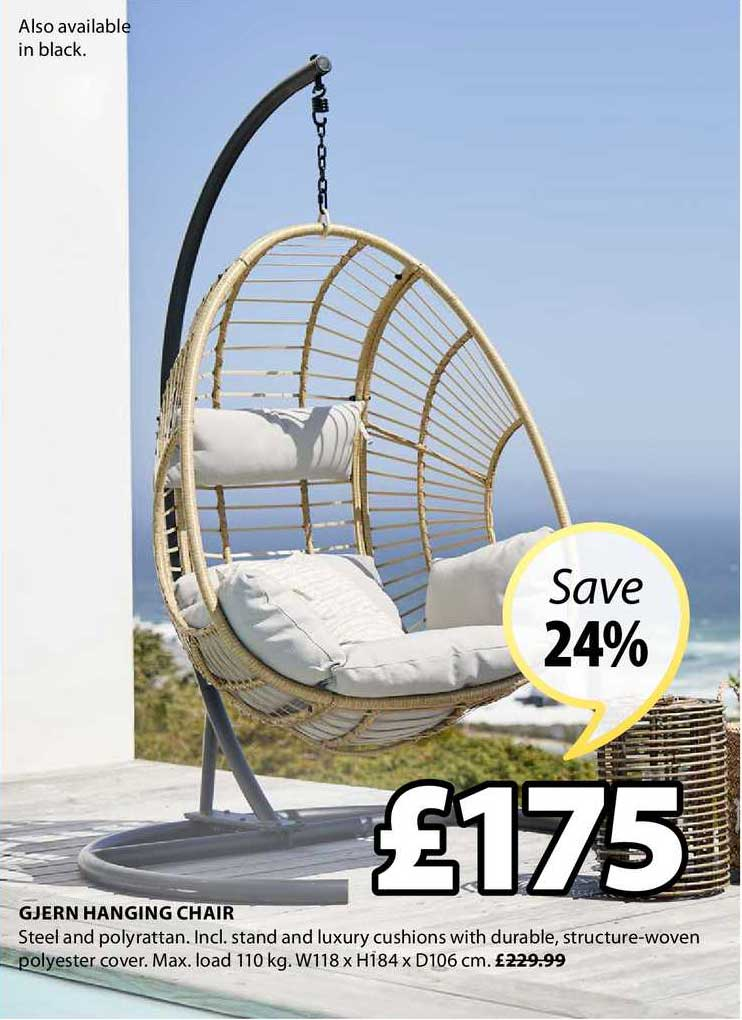 JYSK Gjern Hanging Chair