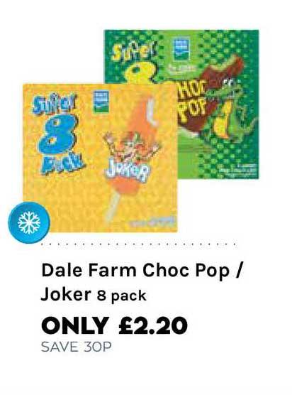 Mace Dale Farm Choc Pop - Joker 8 Pack