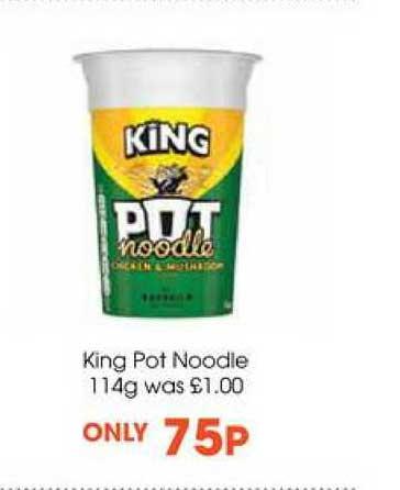 Centra King Pot Noodles