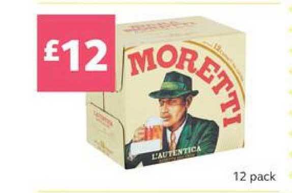 SuperValu Moretti 12 Pack