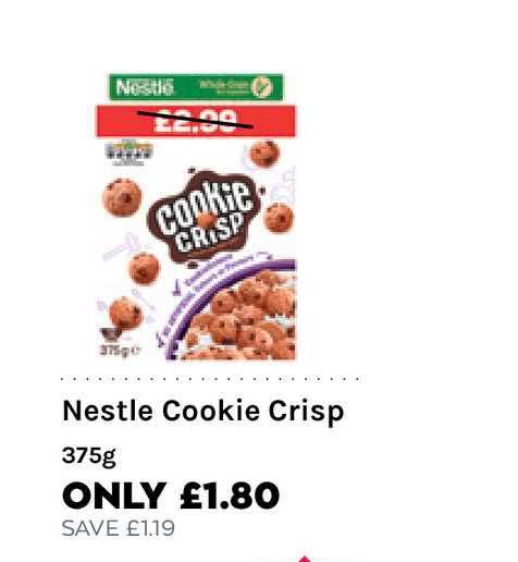 Mace Nestle Cookie Crisp 375g