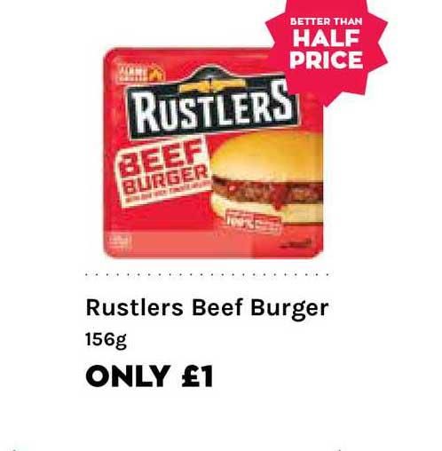 Mace Rustlers Beef Burger