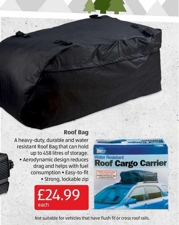 Aldi Roof Bag