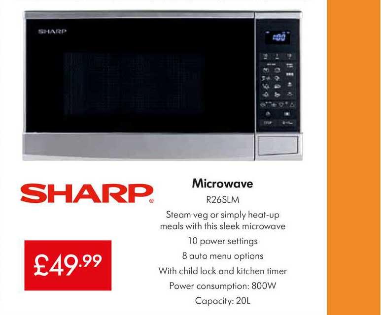 Lidl Sharp Microwave