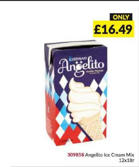 Musgrave MarketPlace Angelito Ice Cream Mix