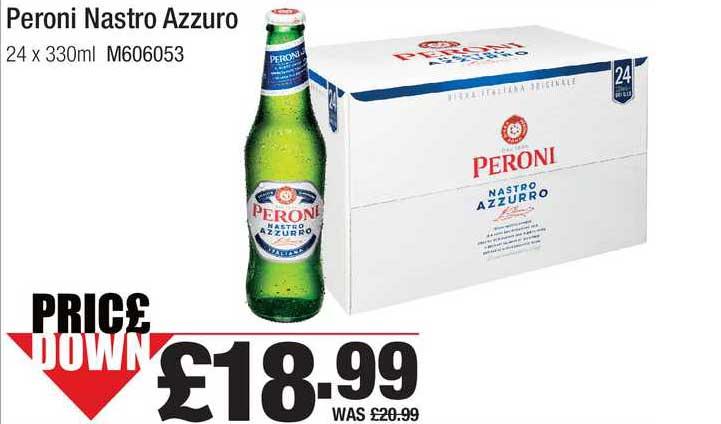 Booker Wholesale Peroni Nastro Azzuro